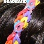 Rainbow Loom Headband