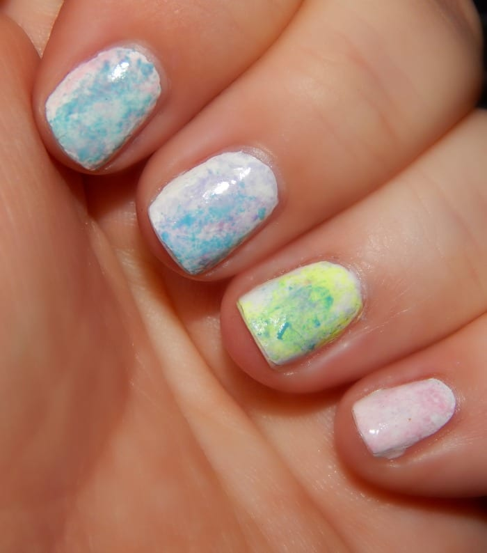 How To Paint Easter Egg Nails