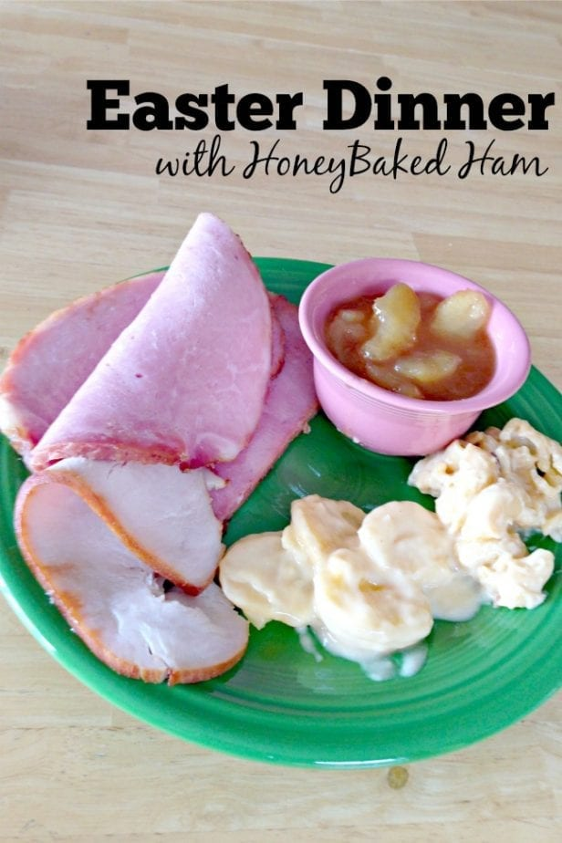 Easter Dinner With HoneyBaked Ham