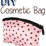 How To Make a Cosmetic Bag