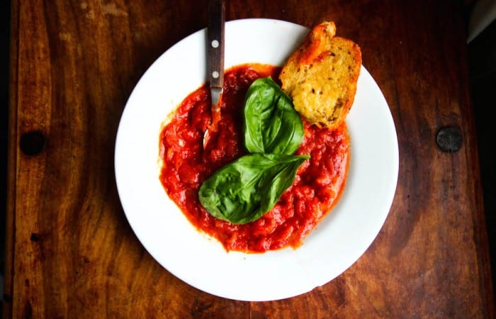 Best Fresh Homemade Tomato Soup Recipe