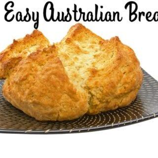 Easy Damper with Golden Syrup {Australian Breakfast}