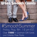 RSVP for the #SmoothSummer Twitter Party! {August 8th 1PM EST}
