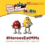 RSVP for the #HeroesEatMMs Twitter Party!!