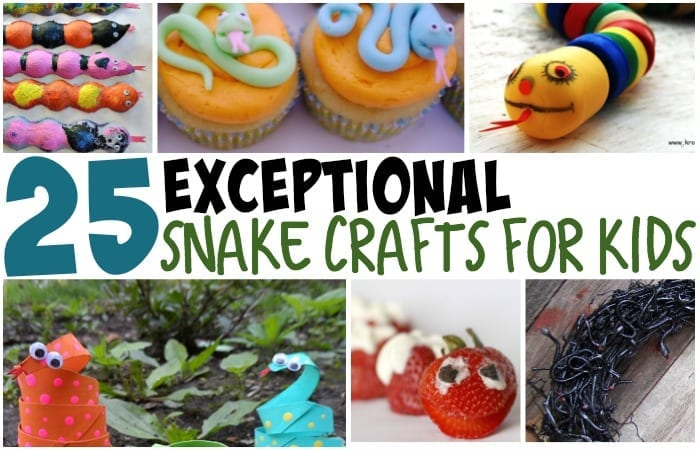 25 Exceptional Snake Crafts For Kids