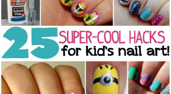 25 kids nail art hacks