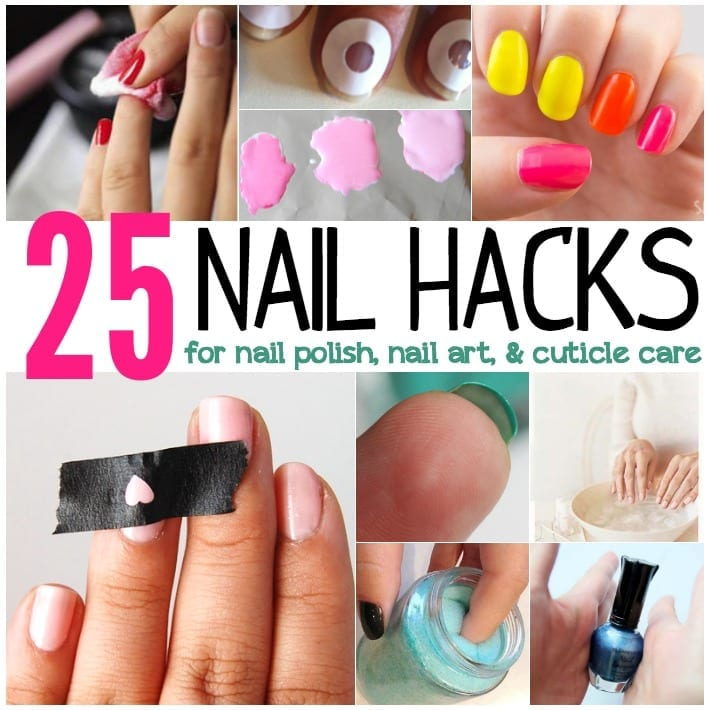 25 nail hacks for nail polish nail art cuticle care totally diy ombre nails are super simple with white nail polish prinsesfo Image collections