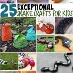 25 snake crafts for kids