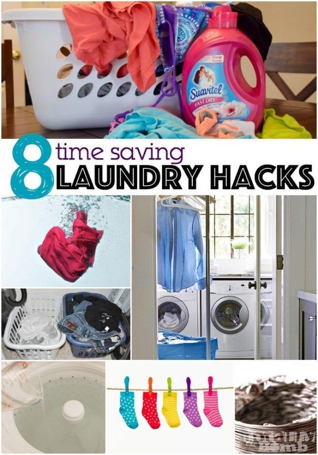 8 time saving laundry hacks