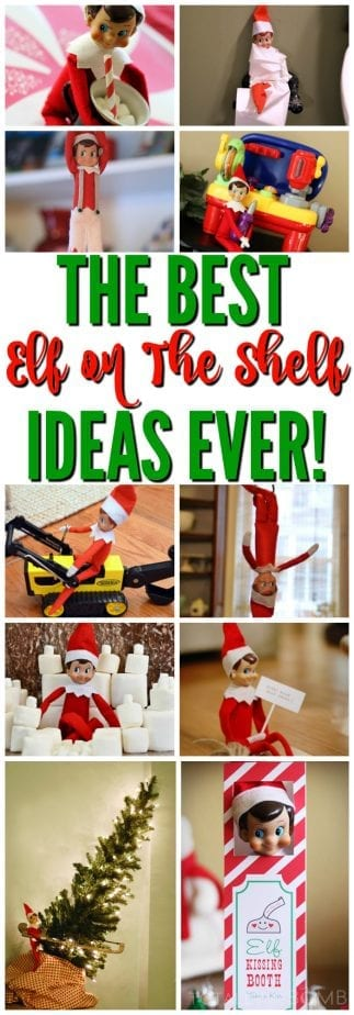 Totally Genius and EASY Elf On The Shelf Ideas