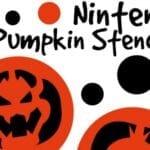 Nintendo Halloween Pumpkin Stencils