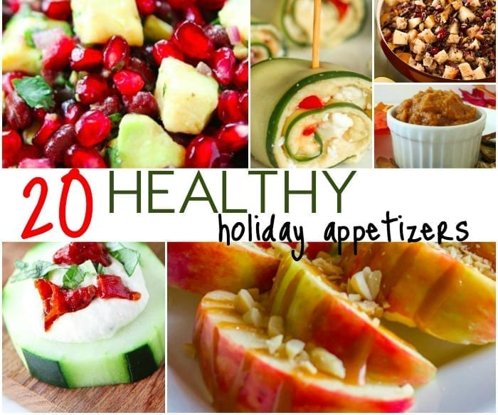 20 healthy holiday appetizers