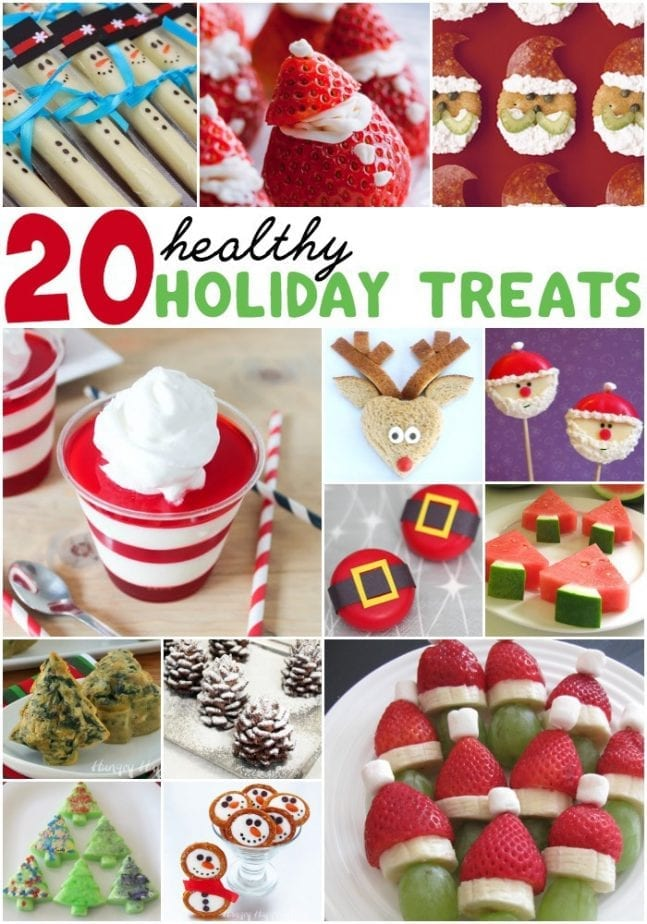 20 healthy holiday treats