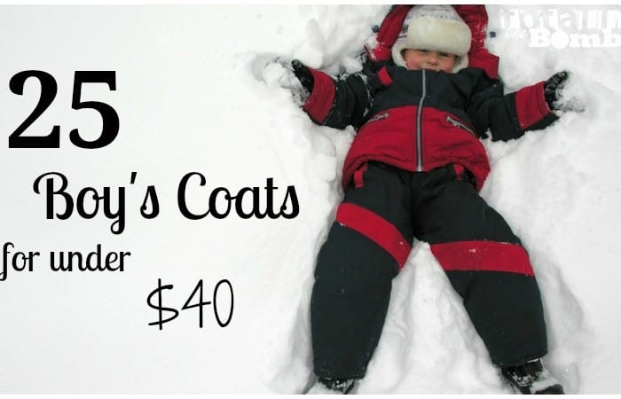 25 Boy's Coats for Under $40