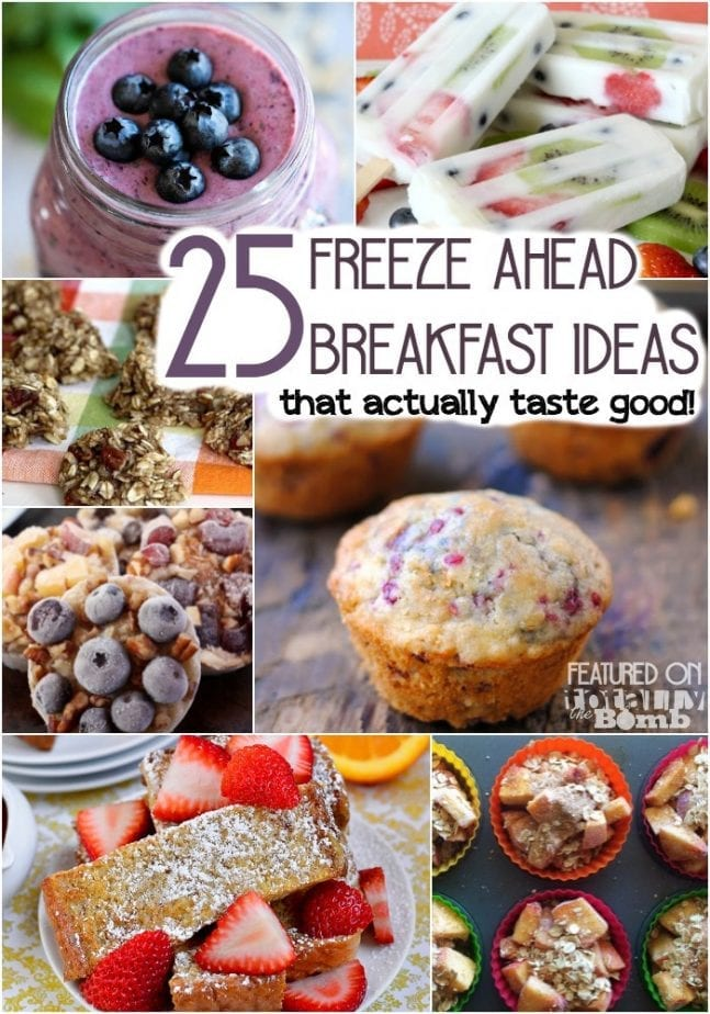 25 Freeze ahead breakfast ideas that actually taste good