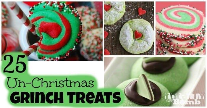 25 UnChristmas Grinch Treats FB