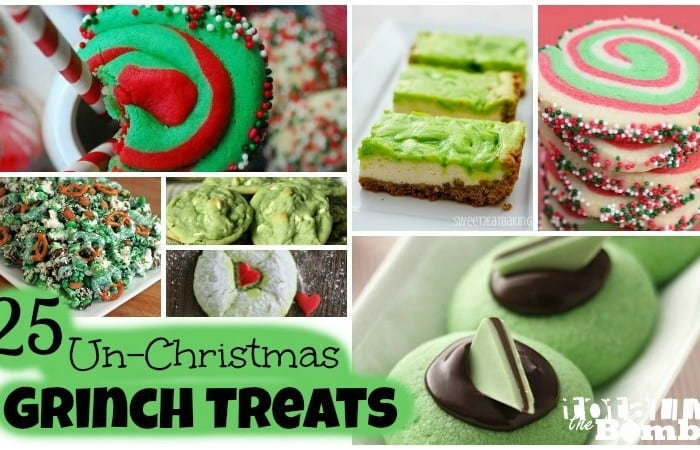 25 Un-Christmas Grinch Treats