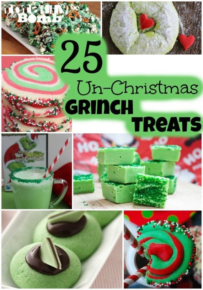 25 Un Christmas Grinch Treats