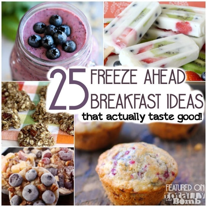 25 freeze ahead breakfast ideas