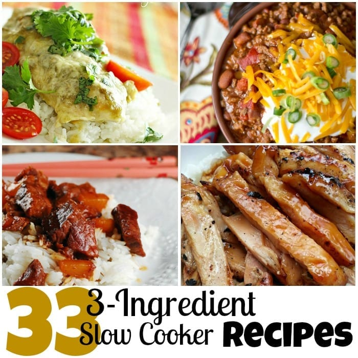 33 3-Ingredient Slow Cooker Recipes Square