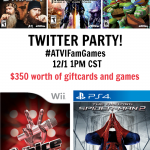 Join Us for a Twitter Party With Activision Family Games on 12/1 at 1pm CST!