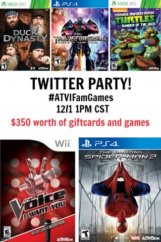 ATVI Twitter Party 2