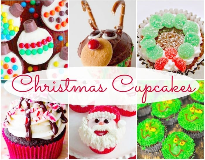 15 easy christmas cupcake decorating ideas - Christmas Cupcake Decorations