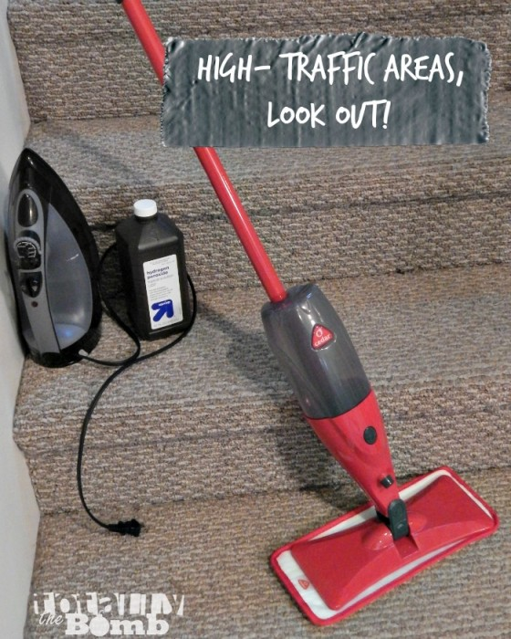 Floor Cleaning Hacks Stairs
