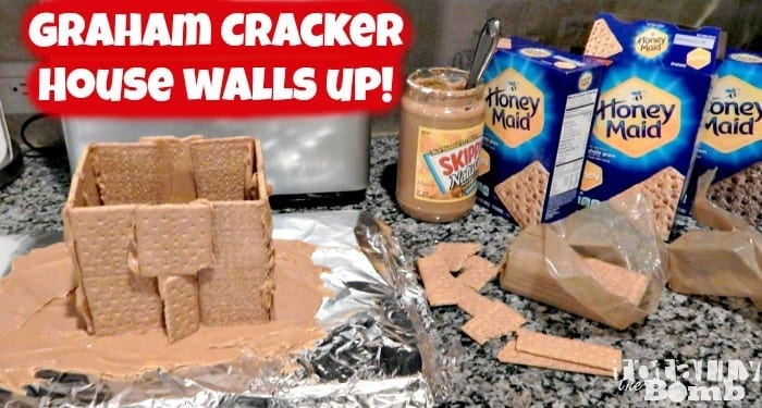 Graham Cracker Houses and 'Smore Snowball Cookies!