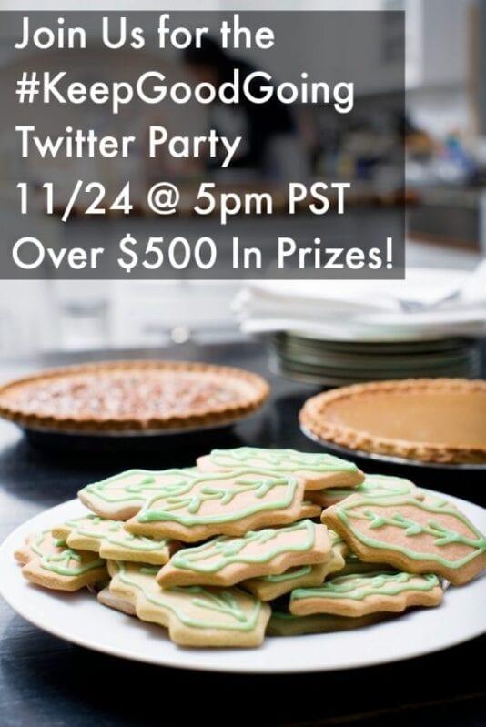 KeepGoodGoing Twitter party