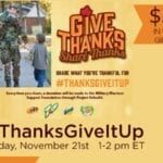 RSVP for the #ThanksGiveItUp Twitter Party