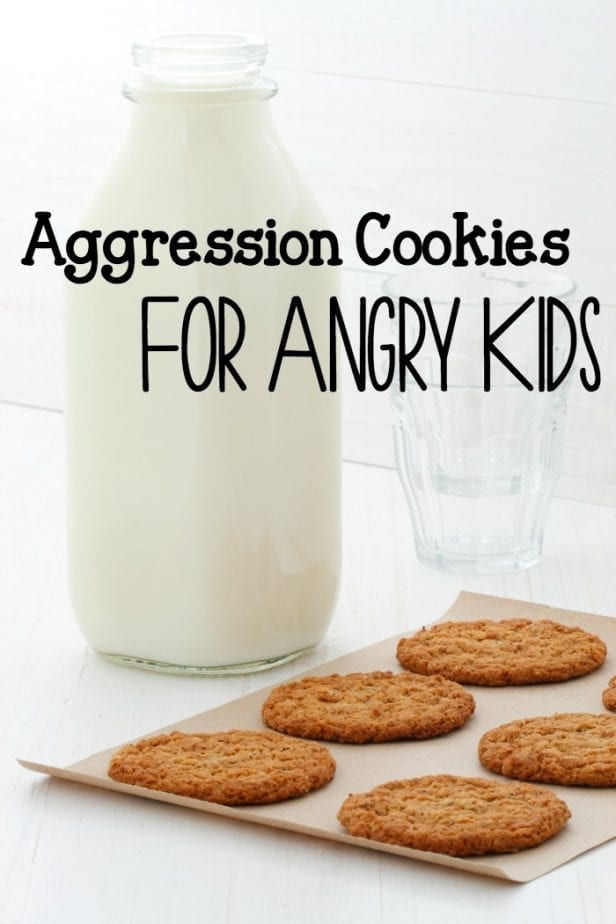aggression cookies for angry kids