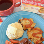 american breakfast with bigelow tea