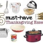 25 Thanksgiving Dinner Cooking Essentials
