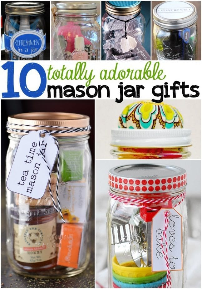 cute mason jar gifts