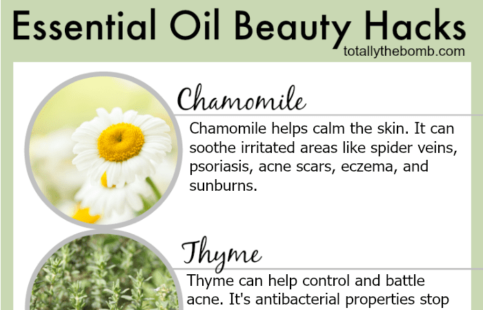 Essential Oil Beauty Hacks