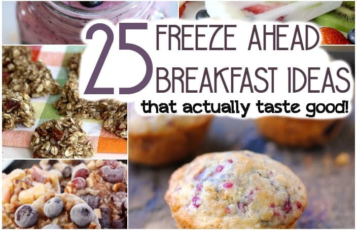 freeze ahead breakfasts that taste good