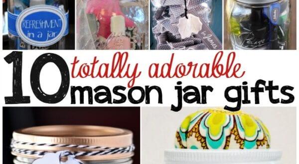 mason jar gifts featured