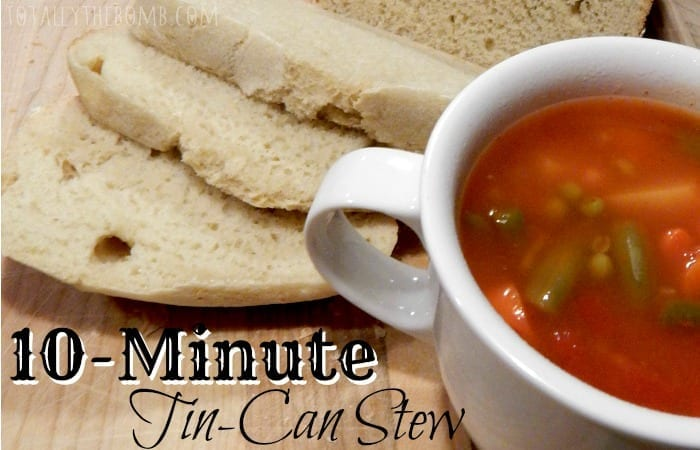 10-Minute Tin-Can Stew Feature