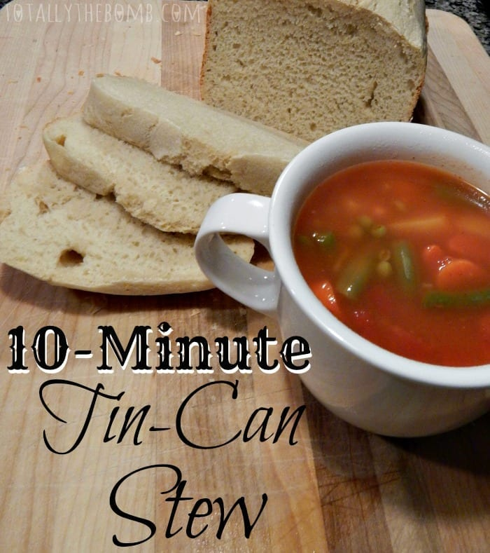 10-Minute Tin-Can Stew Pin