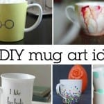 100+ Awesome DIY Coffee Mug Art Creations