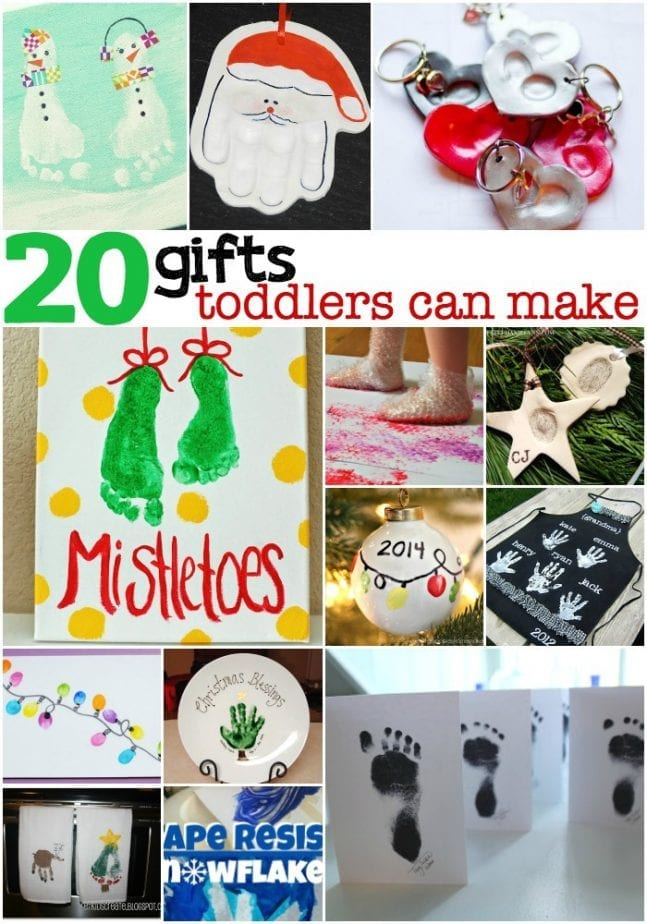 Homemade gift ideas for toddlers
