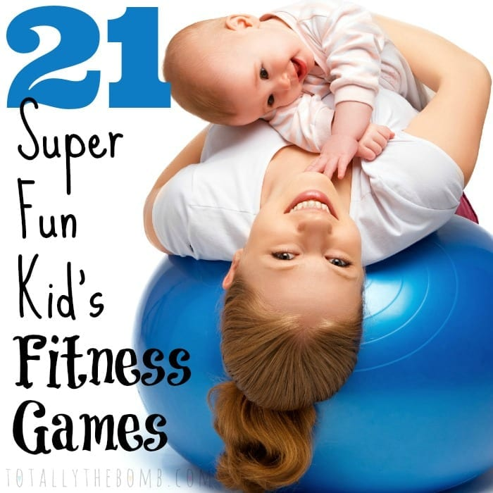 21 Super Fun Kid's Fitness Games Square w txt
