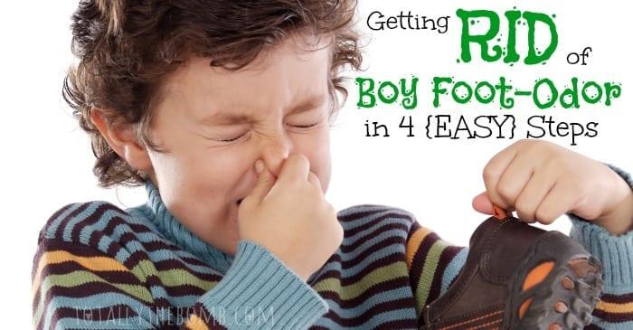 Getting Rid of Boy Foot Odor in 4 Easy Steps FB