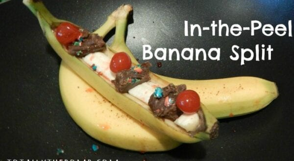 Holiday Recipes In-Peel-Banana-Split Feature