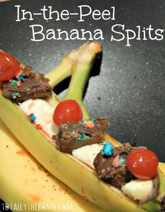 Holiday Recipes In-Peel-Banana-Split Pin
