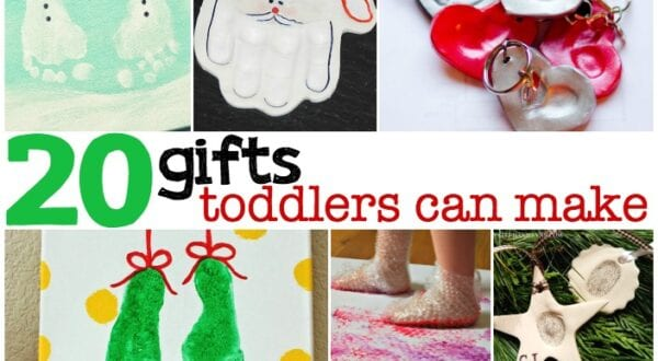 gifts toddlers can make