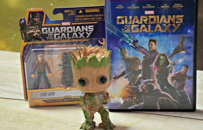 Guardians of the Galaxy Came to Movie Night!