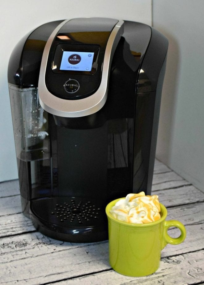 keurig with coffee