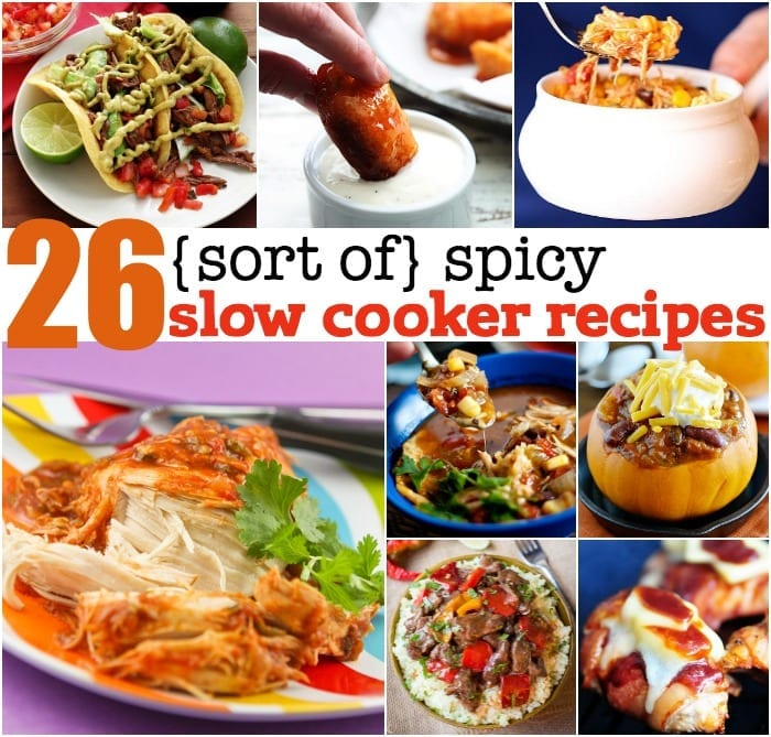 spicy slow cooker recipes